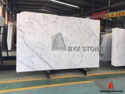 Het Italiaanse Witte Marmer van Bianco Carrara voor de Tegels van Plakken, van de Bovenkant van de Ijdelheid, van de Muur & van de Vloer