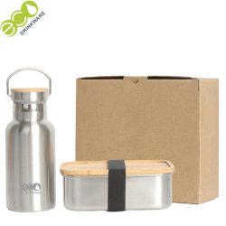 Gv030 isolés Fiole à vide et de Bento en acier inoxydable ensemble de conteneurs alimentaires