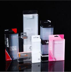 化粧品で、香水使用される、卸し売りカスタム透過折るPVCペットPPプラスチック包装のギフト用の箱食糧、傘、薬、ワイン、猫の餌、ドッグフード、と