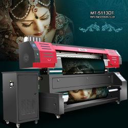 Наиболее востребованных цифровой широкоформатной печати текстильных машин с двойным 5113 печатающих головок