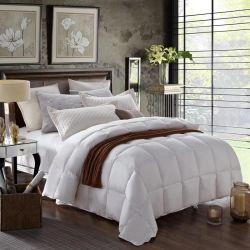 Отель кровати высокого качества питания лист белой утка вниз заполнение стеганых матрасов (JRD938)