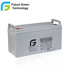 12V 120Ah réglementés Solaire de stockage de l'accumulateur au plomb-acide de batterie de sauvegarde