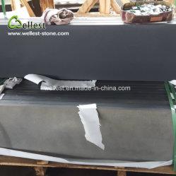 Китай Хайнань черный базальтовой плиткой краеугольным камнем на ландшафтный сад