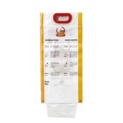 중국 제조자 1kg 2kg 5kg 10kg 디자인 연약한 손잡이를 가진 플라스틱 밥 부대