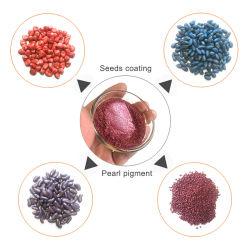 Pigmento Perolado para Molho de Sementes Não Tóxico Ecológico para Corante de Sementes