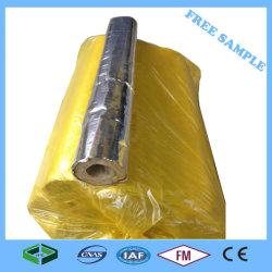 Isolamento térmico do tubo de lã de rocha para tubos de aquecedor de água solares