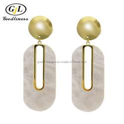 党のための真珠色の大きい方法イヤリングの銀の宝石類