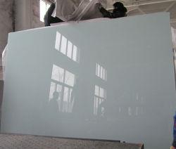 الصين Ral 9003 أبيض ناصع / زجاج أبيض اشارة، زجاج مطليّ باللكر، زجاج مصقول، طلاء مزدوج مع طلاء Fenzi