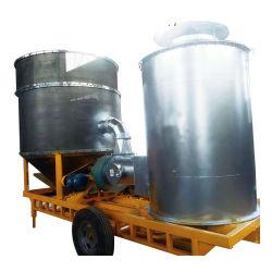 15 طن من الأرز الزراعية المحمولة المجفف معدات التجفيف المنقولة للجفاف