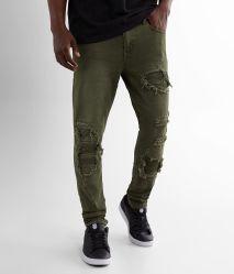 Rickyの細い伸張のジーンのデニムのジーンズの人のジーンズの綿Jeans2020 100%Cotton