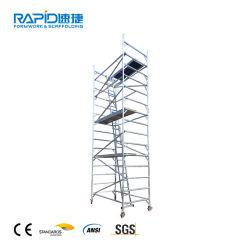 Struttura di un sistema di torretta mobile in alluminio impalcatura di miglior prezzo
