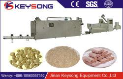 La proteína de soja trozos de carne Nuggets maquinaria de procesamiento de la extrusora de alimentos