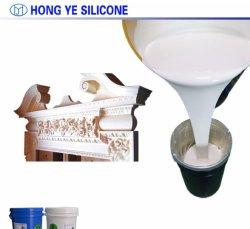 Couleur personnalisée de l'étain de guérir la silicone RTV en silicone de moulage pour le béton des moules