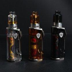 وحدة علبة صغيرة 80 واط بغطاء شفاف من نوع E-Cigarette 2020 Rincoe Jellybox أطقم Vape