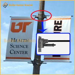 Pôle de la rue de métal enseigne publicitaire Hanger (BS-BS-050)