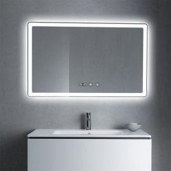 Specchio astuto della stanza da bagno di rettangolo LED dell'hotel con Bluetooth e la radio