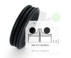 141-27 141-27-00010-00025 vedação flutuante para Serviço Pesado para o rolete da esteira