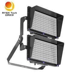 IP66 brevetée Stadium lumière réglable modulaire 1200W Projecteur à LED