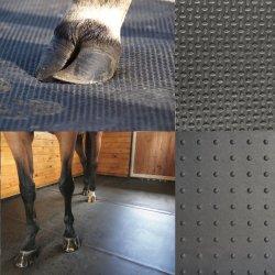 Guter Kuh-Pferden-beständiger Stall-pferdeartiger nicht Beleg-Komfort-Kissen-Stall-Gummifußboden-Matten-Mattenstoff
