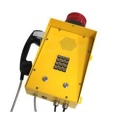 Telefono del IP Weathproof di SIP del telefono di VoIP del telefono Corded IP66 della lega di alluminio