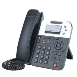 Multilingue 3 lignes de téléphone VoIP d'affaires
