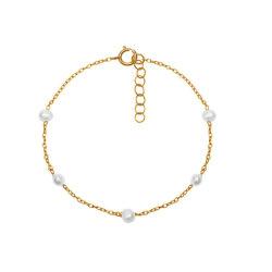 Commerce de gros 925 Sterling Unique bijoux en argent plaqué or 18K Classic Gold Bracelet Satin