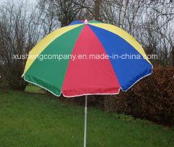 옥외 무지개 일요일 우산 양산을 승진시키십시오