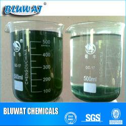 Tratamiento de Efluentes de tinte de Decolor química