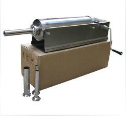 Manuel de la saucisse de farce Machine de remplissage de l'enfourneur Maker