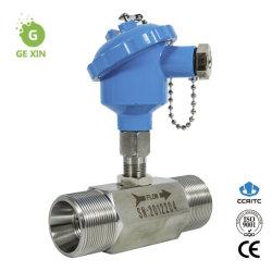 Выход 4-20 Ма соединение высокого давления турбины расходомера