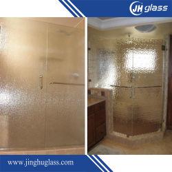 3mm/4mm/5mm/6mm 샤워실을%s 명확한 부유물 장식무늬가 든 유리 제품