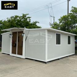 Certificado CE de un marco de envío modular móvil Salón Dormitorio doble Contenedor de Vacaciones Casa prefabricados prefabricados