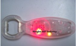 ضوء تسجيل ضوء LED واين Opener زجاجة مفتوحة قابلة للتسجيل البيرة زر الفتح