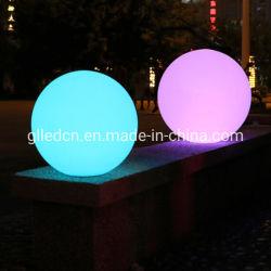 RGB IP65は屋外太陽LEDの球ライトを浮かべるプールを防水する