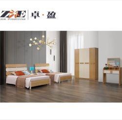 현대 나무로 되는 MDF 아파트 홈 가구 침실 세트