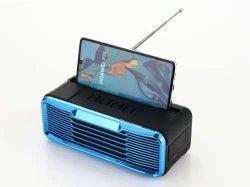 Haut-parleur Bluetooth téléphone mobile portable Wsa-859 avec TF USB Banque d'alimentation FM TWS et détenteur du téléphone mobile