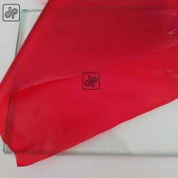 غشاء PVB لون أحمر لزجاج السلامة المنقوع 0.38 مم