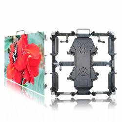 Подвешенные установки кристалла литой алюминиевый 500x500 мм P РП3.91 светодиодный дисплей видео стены шкафа электроавтоматики