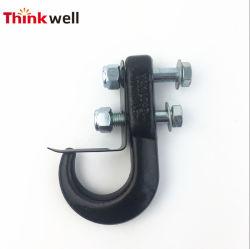 Geschmiedeter fester angestrichener schwarzer Empfänger-Montierungs-Schleppseil-Stahlhaken