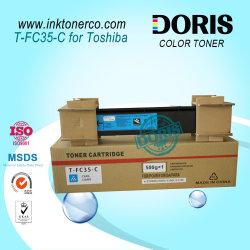 Japón Copiadora en Color en polvo de tóner cian Tfc35 T-FC35 de Toshiba E Studio 2500c 3500c 3510c