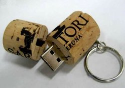 1GB 2GO 4 GO 8 GO de vin Cork lecteur Flash USB