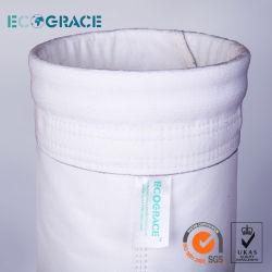 مصافي أكياس الغبار المترية الصناعية مصفى PPS / PTFE فلتر الأقمشة