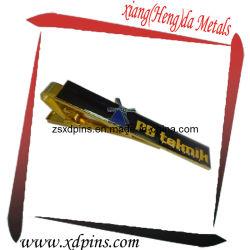 El logotipo de la impresión de la moda personalizados baratos Clip de oro