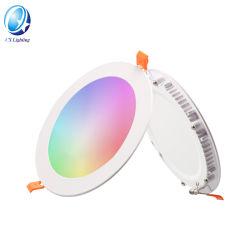 تخفيضات ساخنة 10 واط 15 واط 18 واط 20 واط RGB WiFi السقف الذكي ضوء LED ذكي خفيف من 110 إلى 240 فولت من Tuya