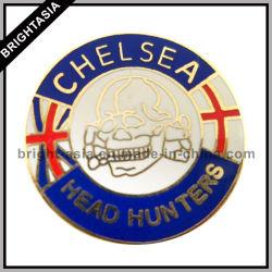 Custom insigne métallique emblème pour le football Logo (BYH-10913)
