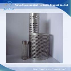 De roestvrij staal Geperforeerde Vaten/de Pijpen/de Buizen van de Filter van het Metaal