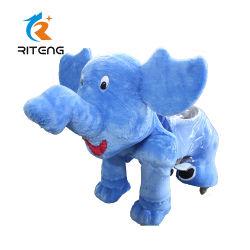 Animaux de la batterie de l'éléphant manèges pour l'Amusement Park