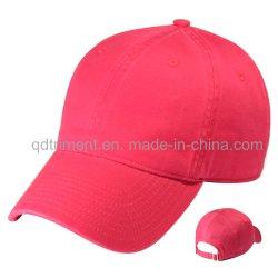 Populäre gewaschene Chino-Twill-Sport-Golf-Baseballmütze (TRNB025)