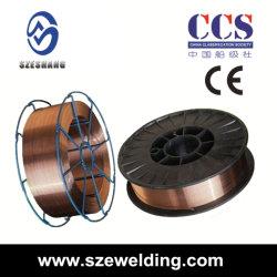 Aws A5.18 ER70s-6 МИГ CO2 Gas-Shielded сварочных проводов и одножильного провода, Сварочная проволока, сварки наливной горловины топливного бака