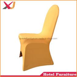 Boda caliente usa silla de spandex/cubierta de tela para Banquetes Hotel